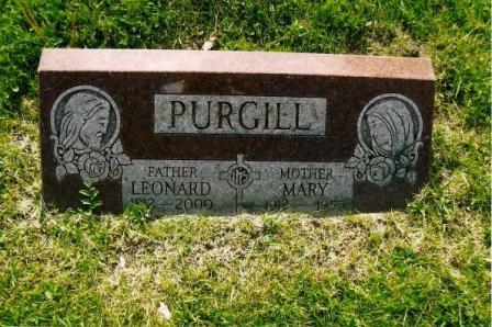 Mary <i>Binder</i> Purgill