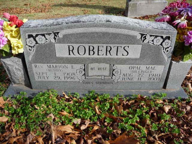 Opal Mae <i>Dillinger</i> Roberts