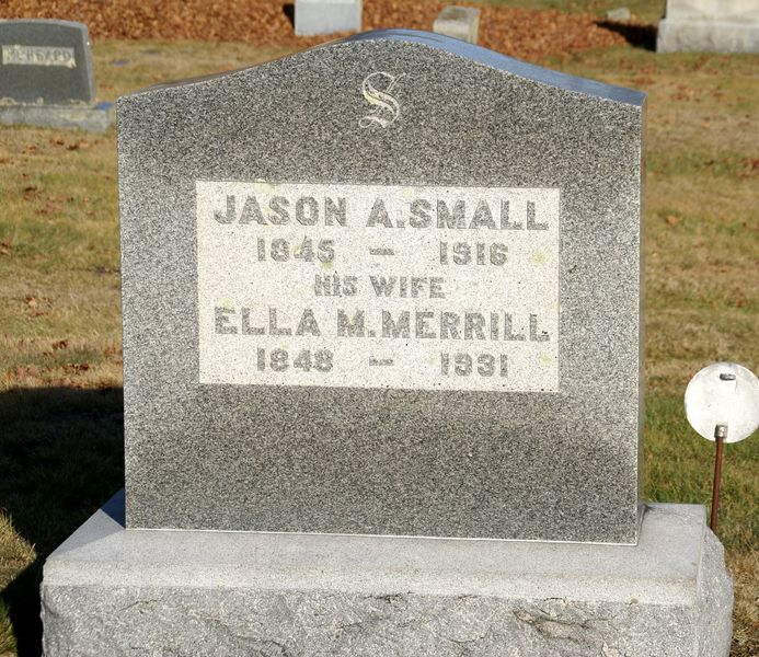 Ella M <i>Merrill</i> Small