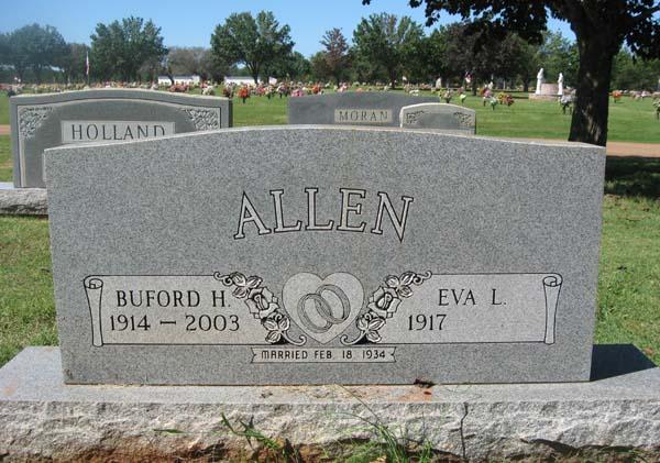 Buford Harrison BH Allen