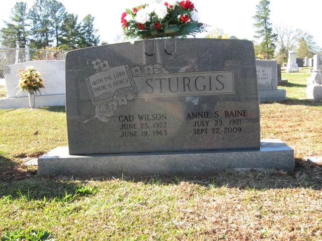 PFC Cad Wilson Sturgis