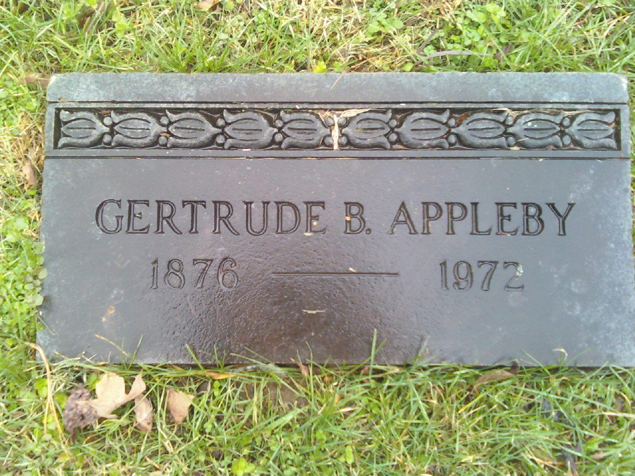 Gertrude <i>Baylor</i> Appleby