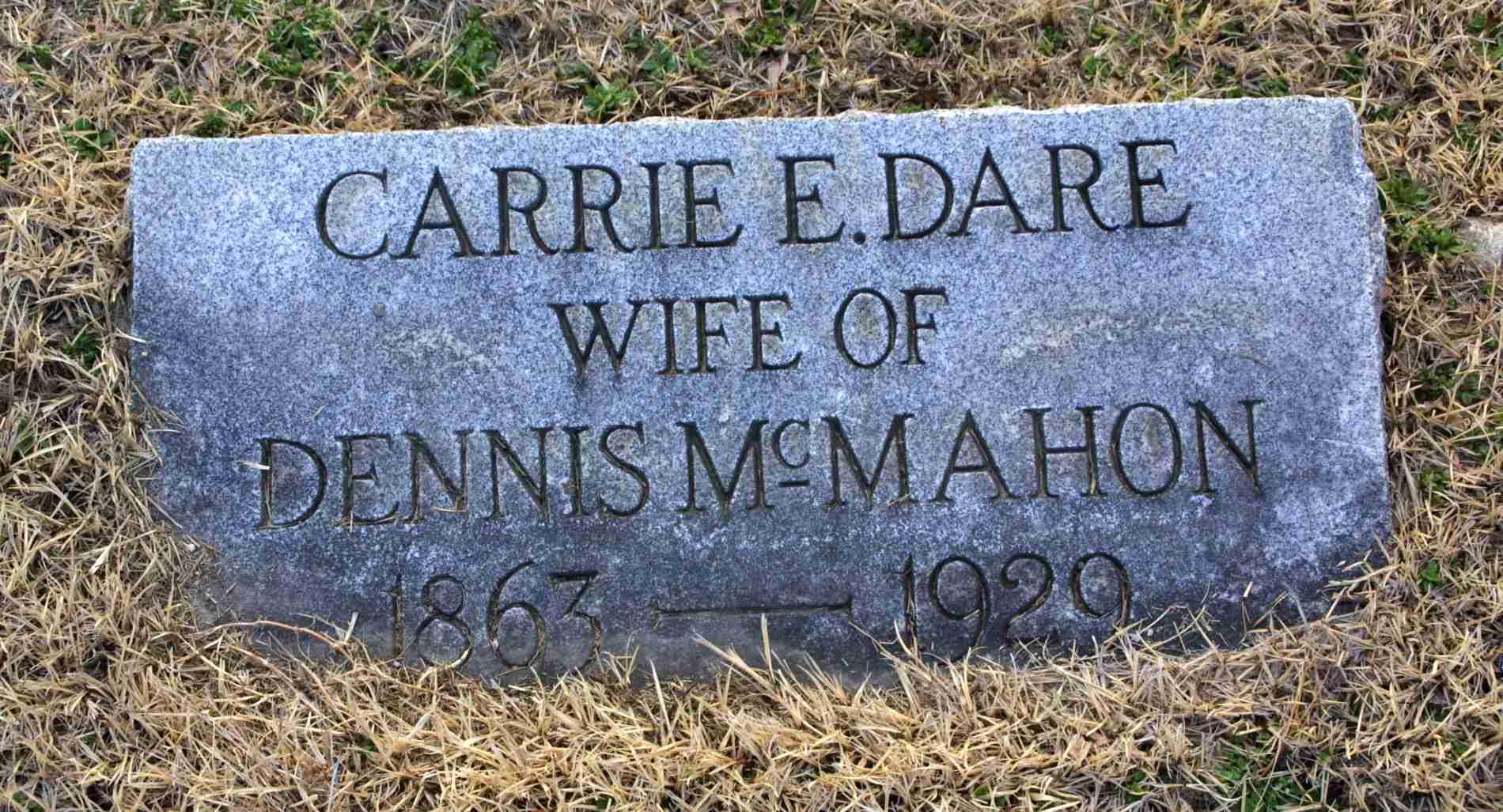 Carrie E <i>Dare</i> McMahon