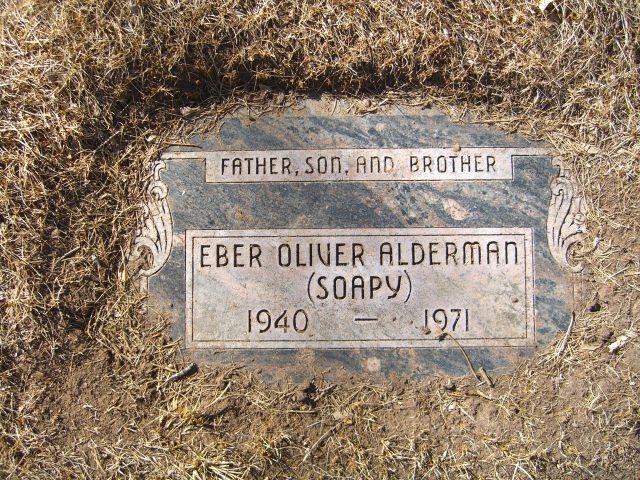 Eber Oliver Soapy Alderman
