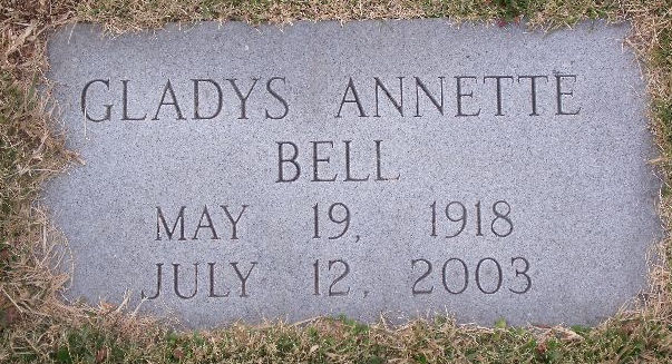 Gladys Annette Bell