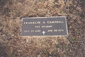 PVT Franklin Alexander Campbell