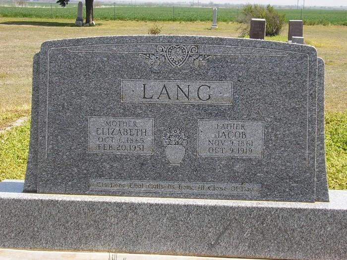 Elizabeth Lizzie <i>Krusenklaus</i> Lang