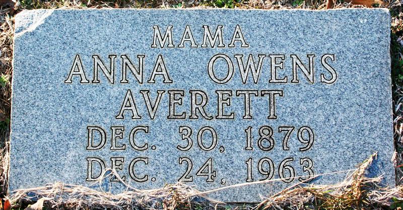 Anna <i>Owens</i> Averett