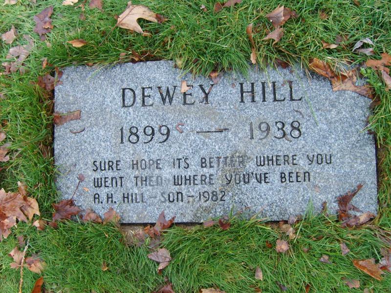 Dewey Hill