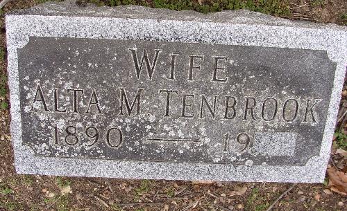 Alta May <i>Wainright</i> Tenbrook