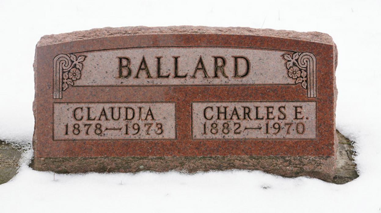 Claudia M. <i>Lilly</i> Ballard