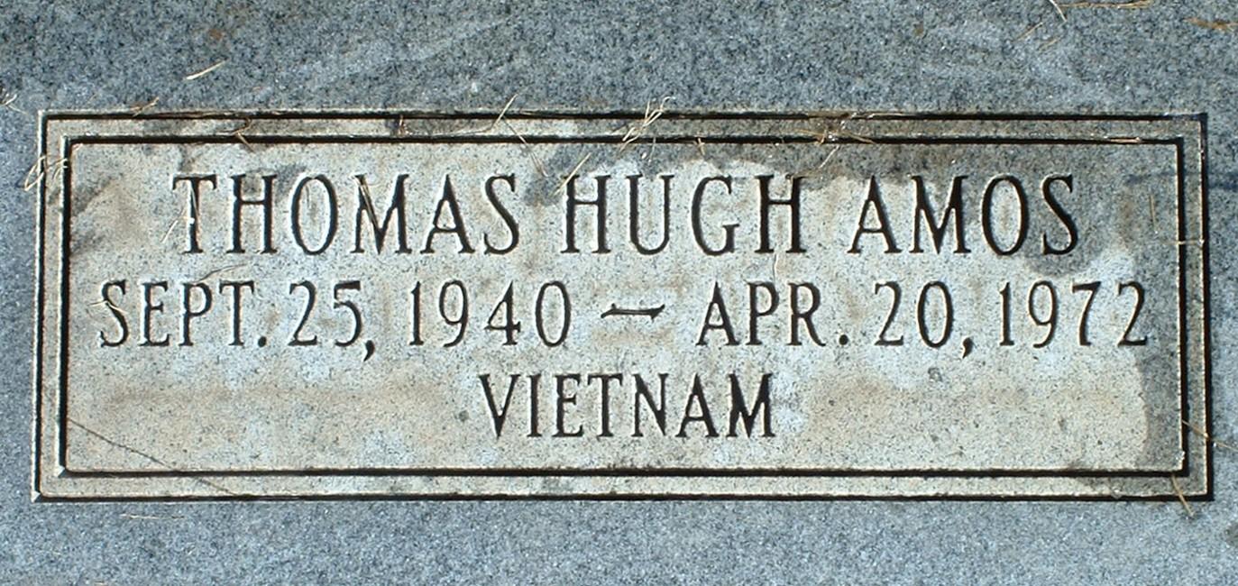 Maj Thomas Hugh Tom Amos