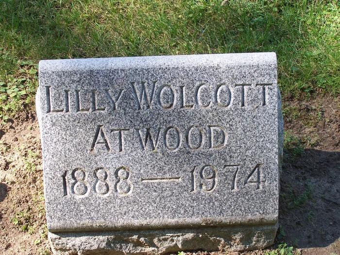 Lillian D. Lilly <i>Wolcott</i> Atwood