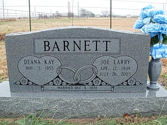 Joe Larry Barnett