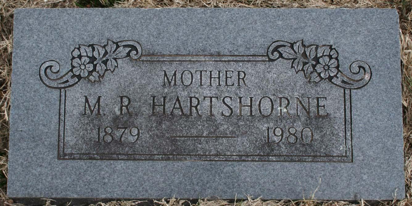 Mamie Marie <i>Rairdon</i> Hartshorne