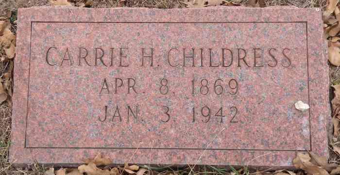 Carrie Hanna <i>Stiles</i> Childress