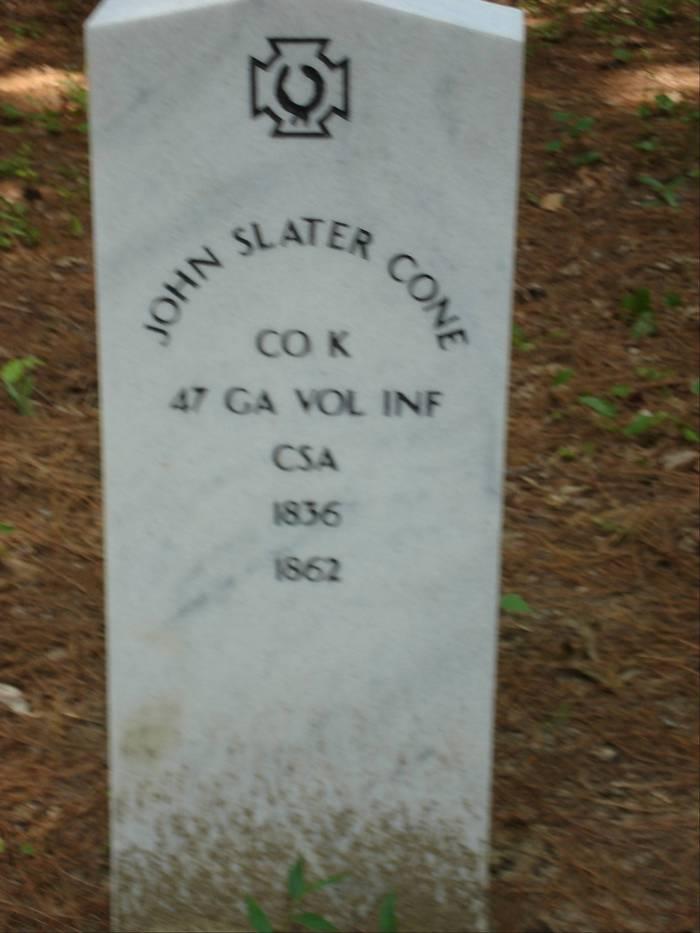 PVT John Slater Cone