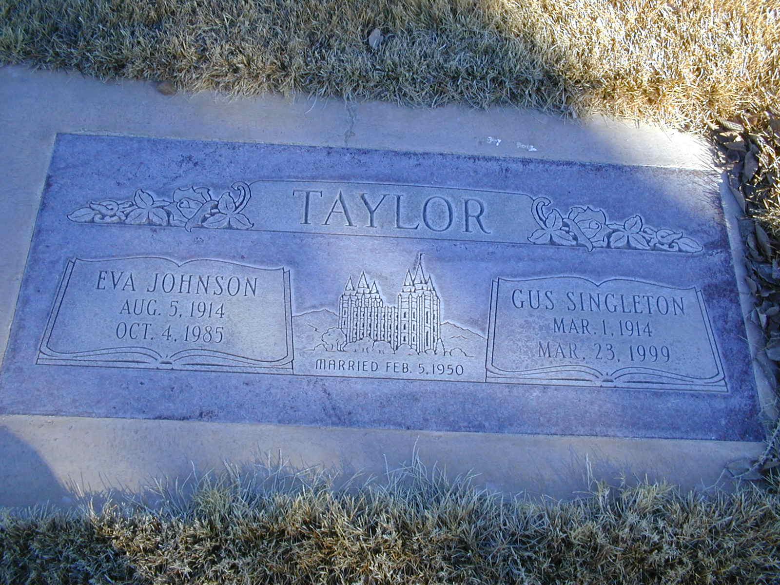 Eva <i>Johnson</i> Taylor