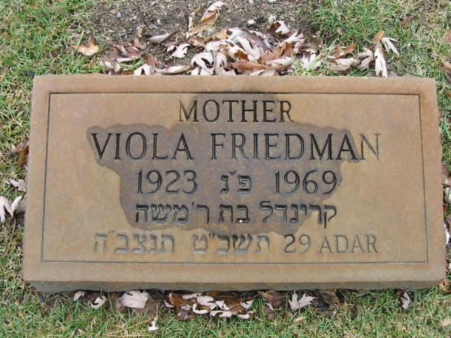 Viola Klara <i>Lebovits Lanyi</i> Pataki Friedman