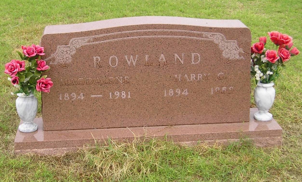 Harry C Rowland