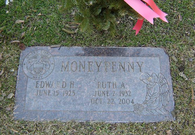 Ruth Ann <i>Weigel</i> Moneypenny