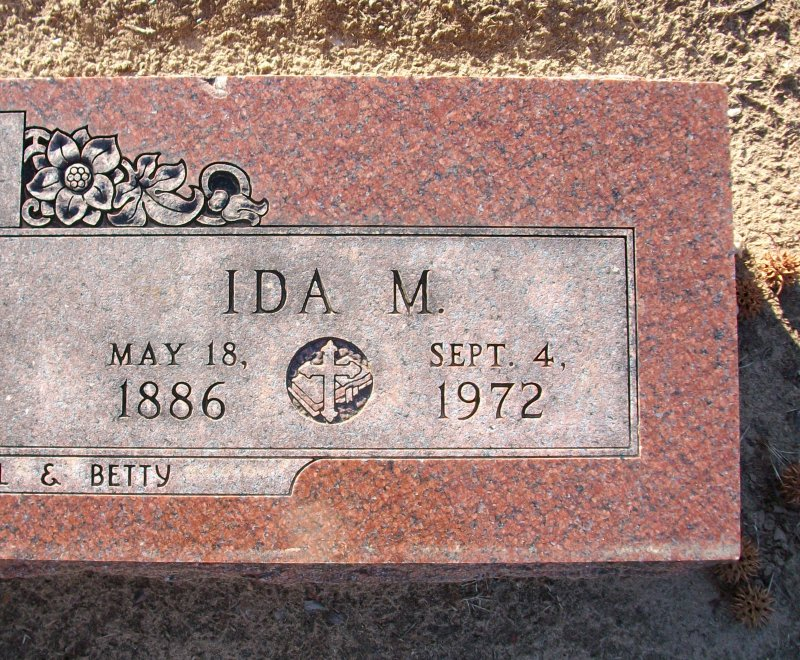 Ida May <i>Logue</i> Amos