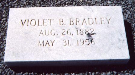 Violet <i>Bruce</i> Bradley