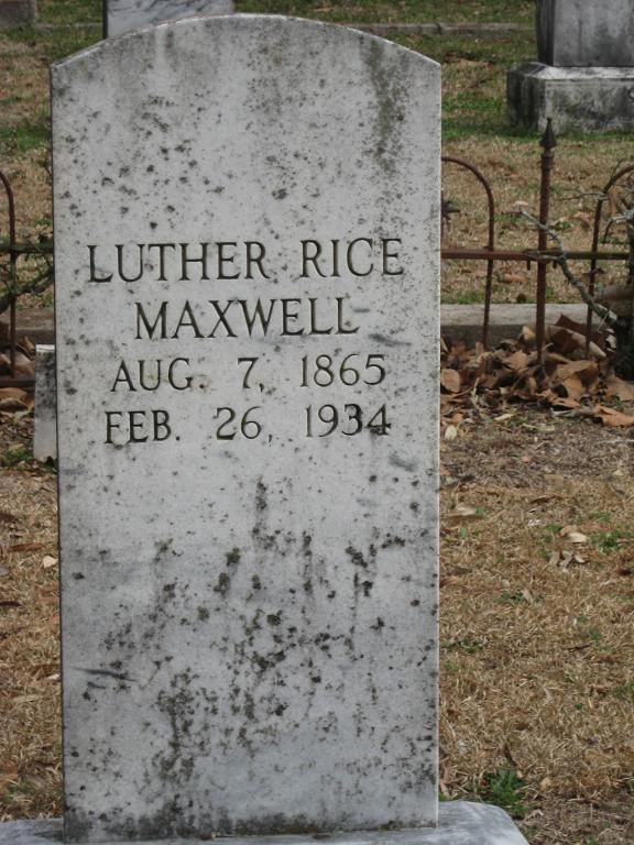 Luther Rice Maxwell