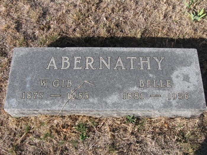 Ira Belle <i>Maxwell</i> Abernathy