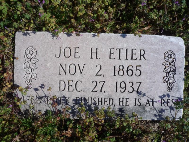Joe H. Etier