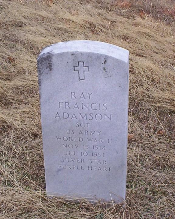 Sgt Ray Francis Adamson