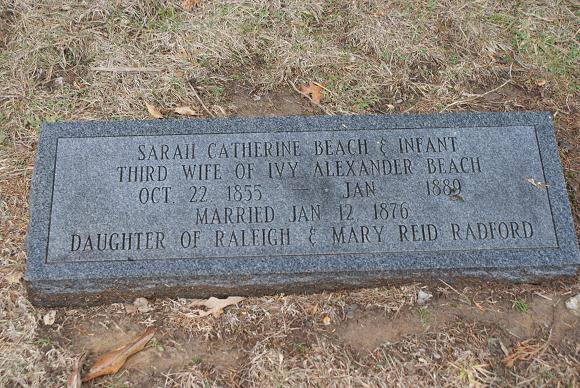 Sarah Catherine <i>Radford</i> Beach