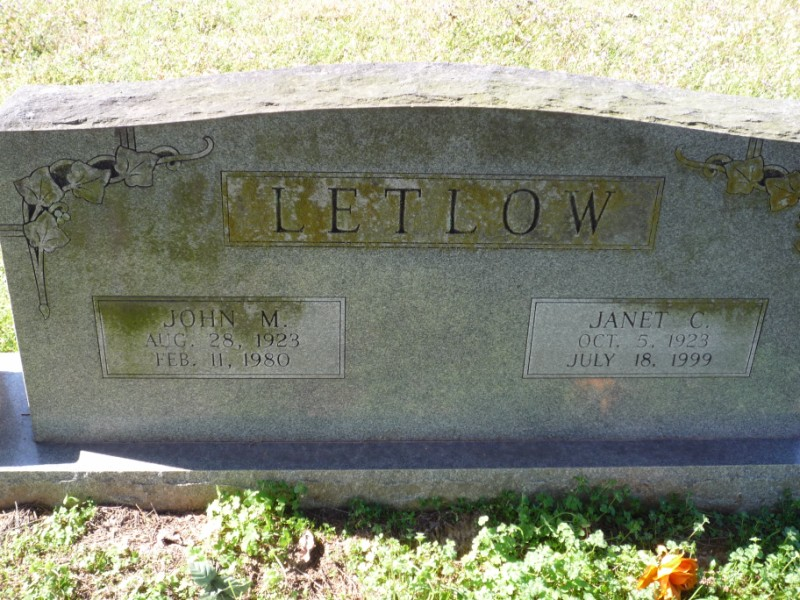 Mary Janet <i>Clement</i> Letlow