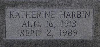 Katherine <i>Harbin</i> Edwards