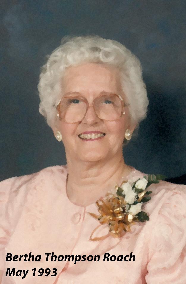 Bertha Newell <i>Thompson</i> Roach