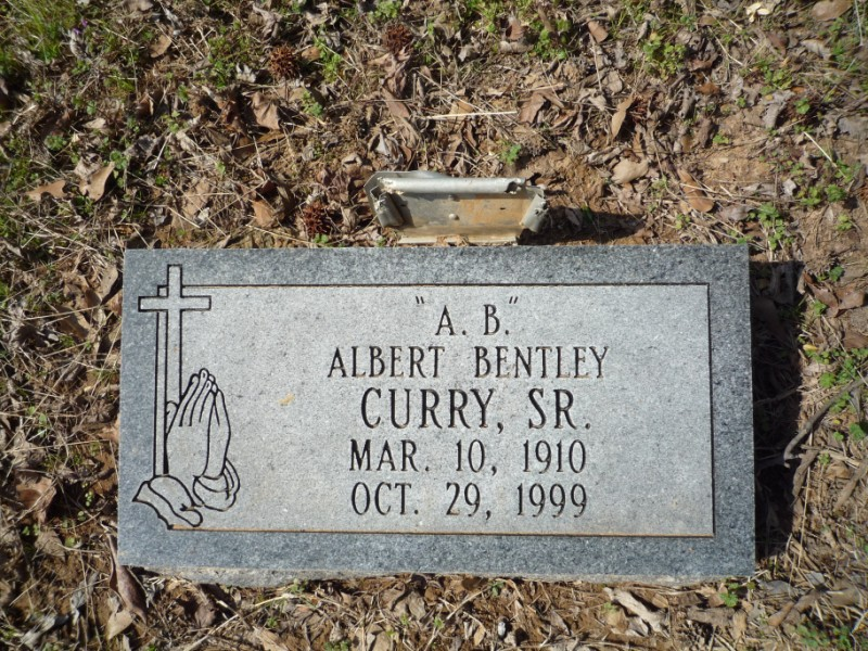 Albert Bentley A. B. Curry