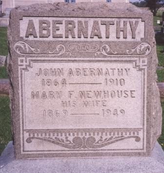 Mary <i>Newhouse</i> Abernathy