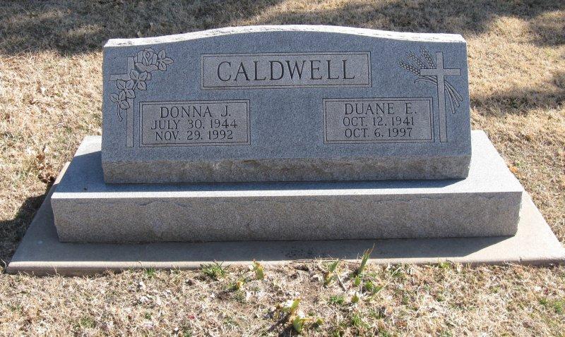 Donna Jean <i>Avery</i> Caldwell