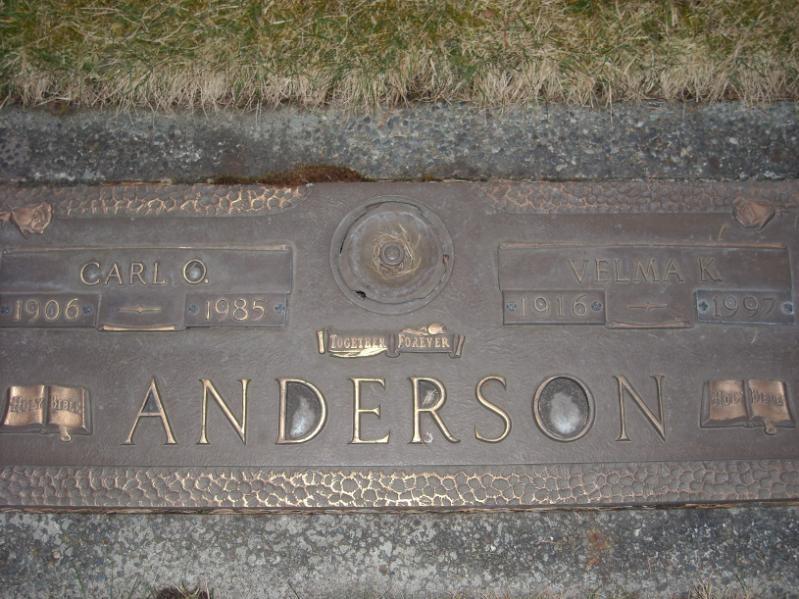 Carl O Anderson