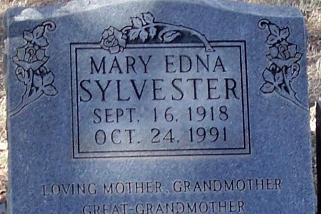 Mary Edna Frits <i>Meneley</i> Sylvester