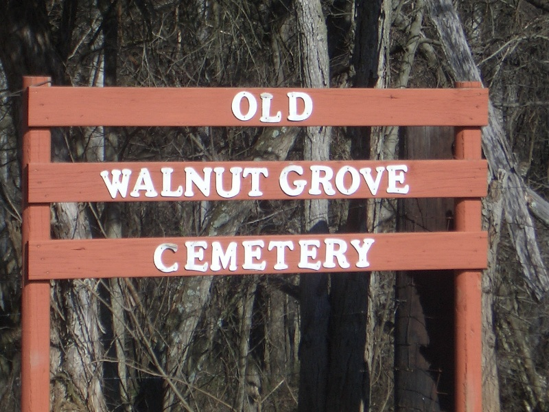 Old Walnut Grove Cemetery