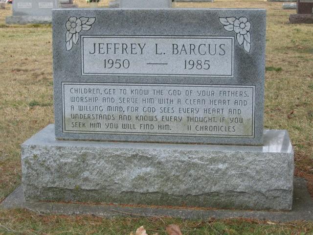 Jeffrey L. Barcus