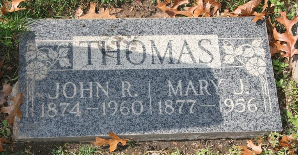 Mary Jane <i>Petty</i> Bartley Thomas