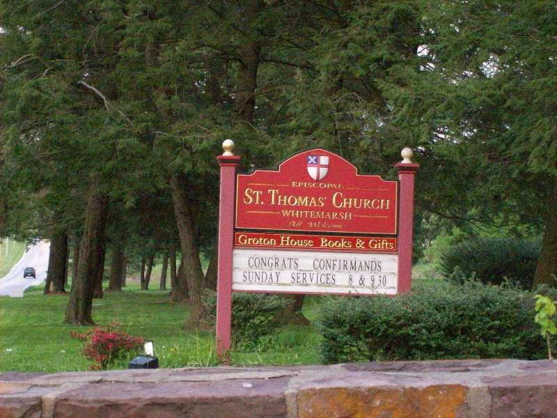 Saint Thomas Episcopal Church Cemetery