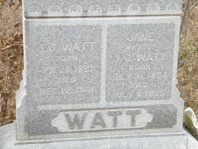 Jane <i>Baird</i> Watt