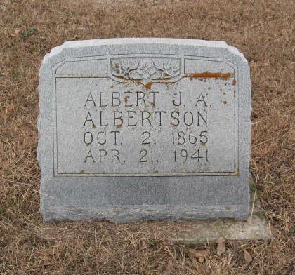 Albert J A Albertson