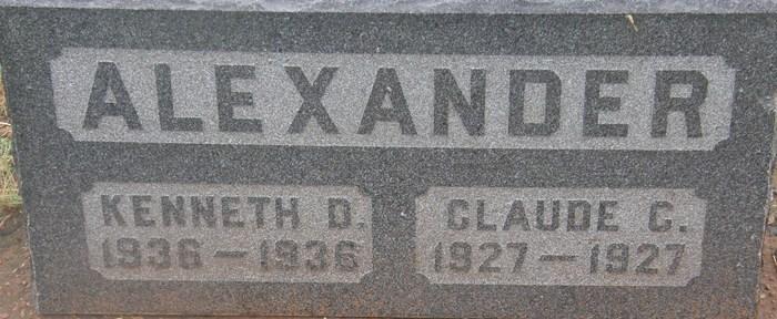Claude C. Alexander