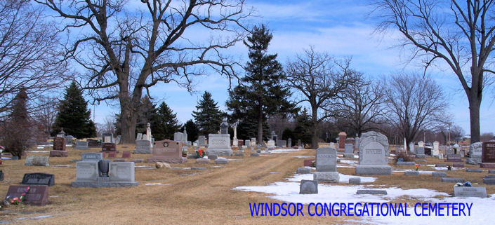 Windsor Congregational Cemetery