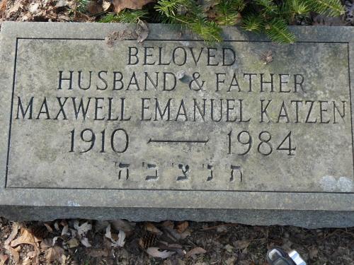 Maxwell Emanuel Katzen