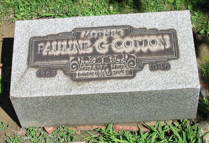 Pauline <i>Geisler</i> Cotton